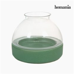 Ceramic and glass candleholder by Homania