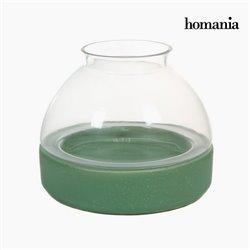 Keramik und glas kerzenhalter by Homania