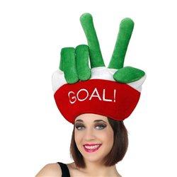 Cappello Bandiere del mondo Goal Italiano