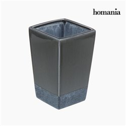 Keramikvase grau by Homania