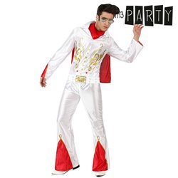 Costume per Adulti Th3 Party Cantante rock M/L