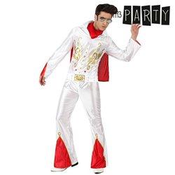 Costume per Adulti Th3 Party Cantante rock XL