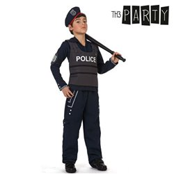 Costume per Bambini Th3 Party Poliziotto 7-9 Anni