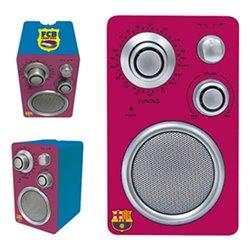Radio Portatile F.C. Barcelona Rosso granato