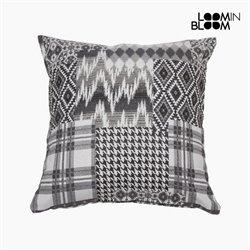 Coussin (45 x 10 x 45 cm) Coton et polyester Noir