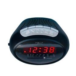 Radio Sveglia NEVIR NVR-327 Nero