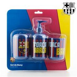 Accessoires de Salle de Bain FC Barcelone (3 pièces)