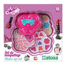 Set di Trucchi per Bambini Cuore Rosa