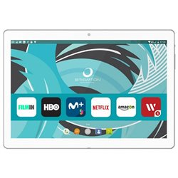"Tablet BRIGMTON BTPC-1022 10,1"" Quad Core 16 GB 2 GB RAM Bianco"