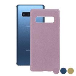 Custodia per Cellulare Samsung Galaxy S10+ Eco-Friendly Azzurro