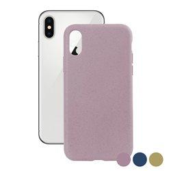 Custodia per Cellulare Iphone X Eco-Friendly Azzurro