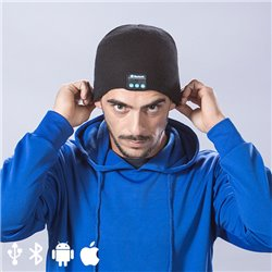 Sports Cap with Bluetooth 145364 Black