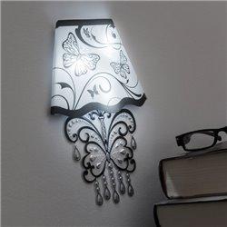Autocolante para Parede com LED Butterfly