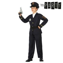 Costume per Bambini Poliziotto 3-4 Anni
