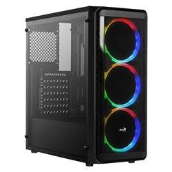 Cassa Semitorre ATX Aerocool SI5200RGB RGB USB 3.0 Nero