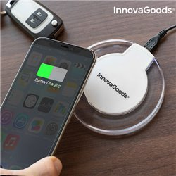 InnovaGoods Caricabatterie Senza Fili Smartphone Qi Wh