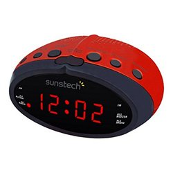 Radio Sveglia Sunstech FRD16RD Rosso