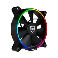Ventilatore Nfortec Oberon RGB (Ø 12 cm)