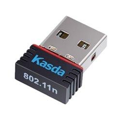 Scheda di Rete Wi-Fi Kasda KW5311 N150 2.4 GHz Nero