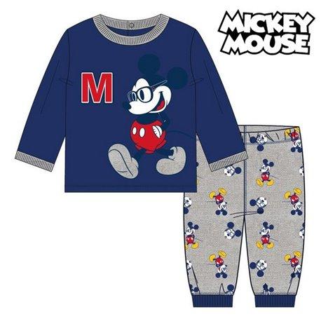 Pigiama Per bambini Mickey Mouse Blu marino Taglia - 18 Mesi