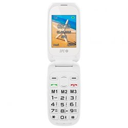 SPC Harmony 6.1 cm (2.4) 89.5 g White Feature phone 2304B