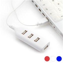 Hub USB 4 Porte 143898 Bianco