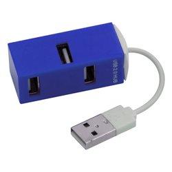 4-Port USB Hub 143385 Blue