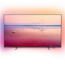 "Smart TV Philips 55PUS6754 55"" 4K Ultra HD LED WiFi Argentato"