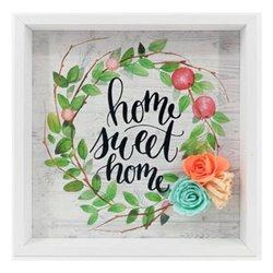 Quadro Home Sweet Home (21 x 21 x 2 cm) 115773