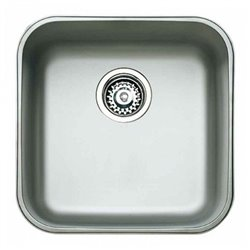 Teka Sink with One Basin Stainless steel