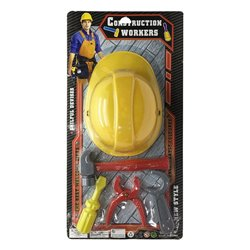 Tool Set with Helmet 118700