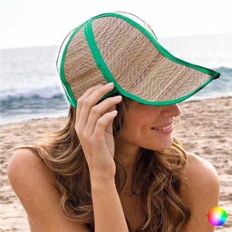 Cappello di Paglia Pieghevole 149861 Arancio