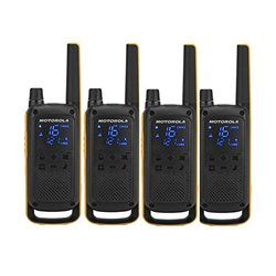 Walkie-Talkie Motorola T82 Extreme (4 Pcs) Nero Giallo