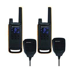 Walkie-Talkie Motorola T82 Extreme RSM (2 Pcs) Nero Giallo