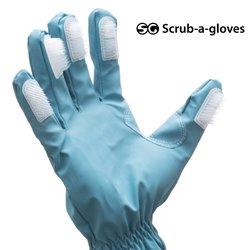 Luvas de Limpeza com Escovas Scrub a Gloves (pack de 2)