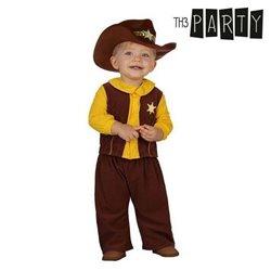 Costume per Neonati Cowboy (2 Pcs) 6-12 Mesi