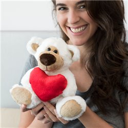 Ours en Peluche avec Coeur