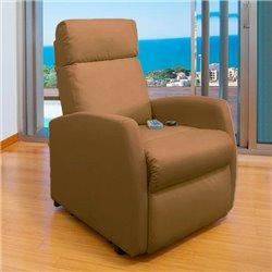 Poltrona Relax de Massajadora Cecotec Compact Camel 6019