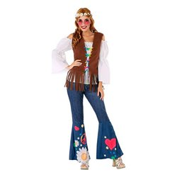 Costume per Adulti 110046 Hippie XXL