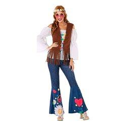 Costume per Adulti 110046 Hippie XXL