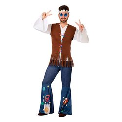 Costume per Adulti 110077 Hippie XL