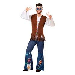 Costume per Adulti 110077 Hippie XXL