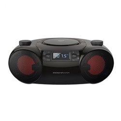 Radio CD Bluetooth MP3 Energy Sistem Boombox 6 12W Nero