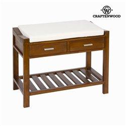 Panchina con cuscino e cassetti - Franklin Collezione by Craftenwood