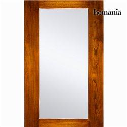 Specchio Legno di mindi (130 x 80 x 10 cm) - Serious Line Collezione by Homania