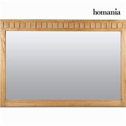 Specchio Legno di mindi (120 x 80 x 3 cm) - Square Collezione by Homania