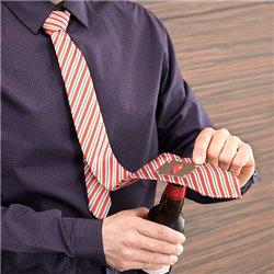 Cravate avec Décapsuleur Métallique