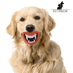 Brinquedo de Borracha com Som para Cães Funny Pet Prior