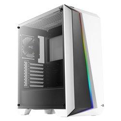 Cassa Semitorre ATX Aerocool CYLONPROWG RGB USB 3.0 Bianco