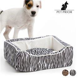 Pet Prior Dog Bed (45 x 35 cm) Zebra